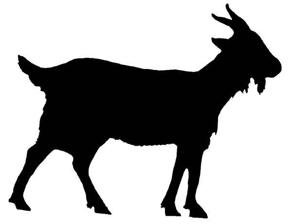 goats-head-clipart-silhouette-4
