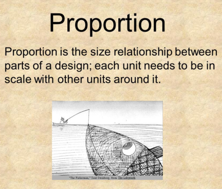 Proportion Scale Design