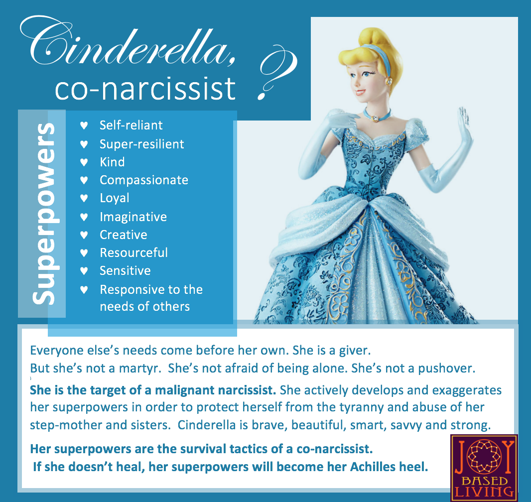 cinderella co-narcissist list of superpowers