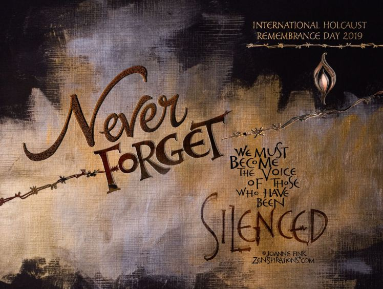 holocaust memorial - voice for those who have been silenced