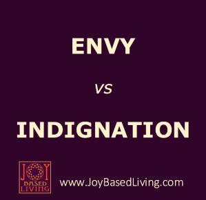 envy vs indignation