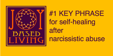 Number 1 Key Phrase for Self-Healing After Narcissistic Abuse - Youtube thumbnail