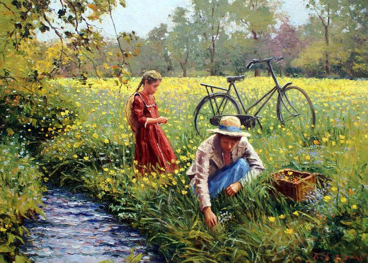 picking-yellow-flowers-roelof-rossouw